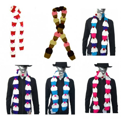 Cup cake Scarf's