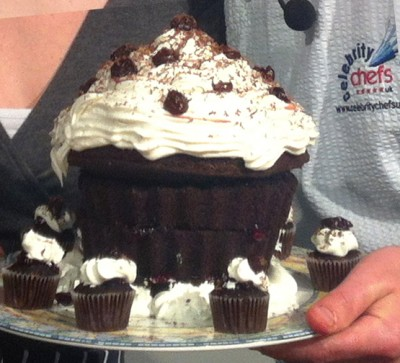 CCK Black Forest Gateaux Cup Cakes