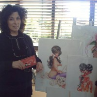 Olivia De Berardinis - the artist and her art