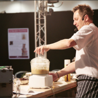 Photo courtesy of Cake International show - Paul de Costa The Bakery Theatre