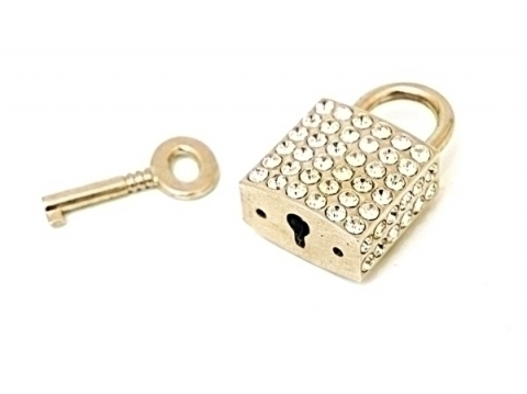 Diamante Mini Padlock