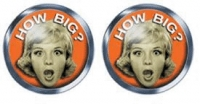 Pin-up Cufflinks - How Big?