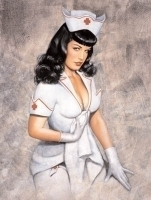 Bettie Card - Nurse Bettie